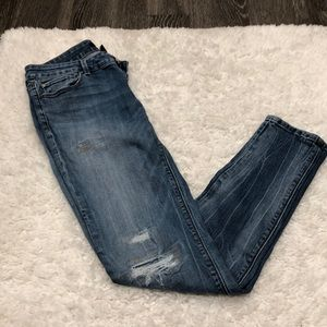 White House Black Market Jeans - White House Black Market Distresses Jeans